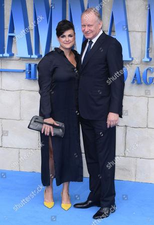 Megan Everett and Stellan Skarsgard