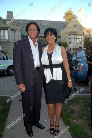 Bruce Jenner and wife Kris Kardashian Jenner
