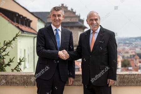 OECD Secretary General Angel Gurria visit to Prague