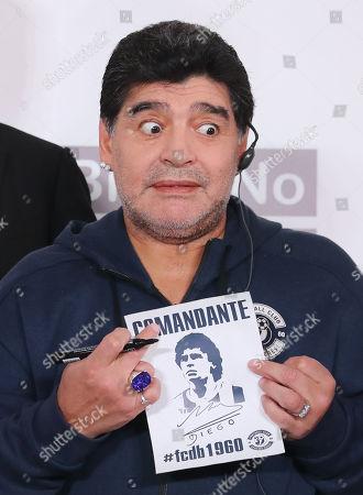 Diego Maradona visit to Belarus