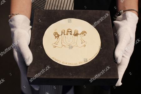 Editorial picture of Bonhams auction preview, London, UK - 16 Jul 2018