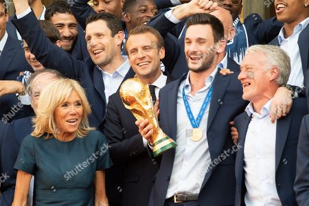 French National Soccer Team at Presidential Palace, Elysse