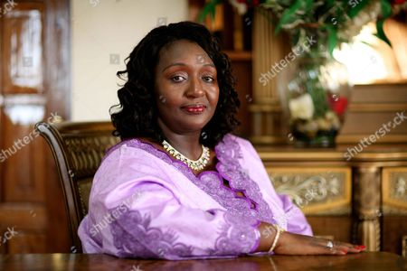 Stock Image of Sia Koroma, First Lady of Sierra Leone