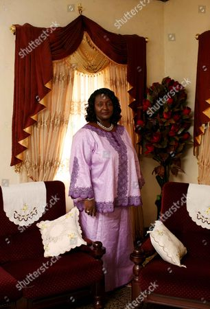 Editorial image of Portraits of Sia Koroma, the First Lady of Sierra Leone - 12 Jun 2009