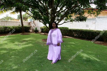 Stock Photo of Sia Koroma, First Lady of Sierra Leone