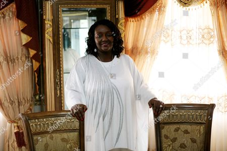 Editorial photo of Portraits of Sia Koroma, the First Lady of Sierra Leone - 12 Jun 2009