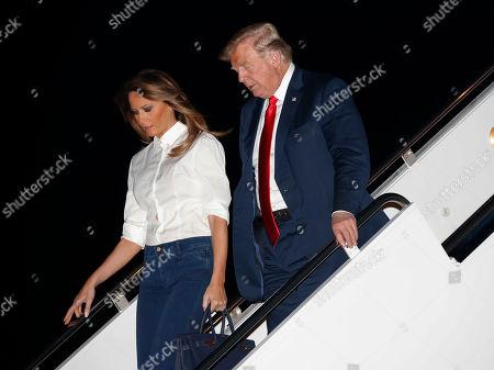 Donald Trump returns to the White House, Washington DC