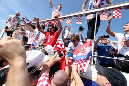 Croatian National Team Welcome Home Celebration, Zagreb