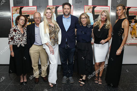 Stock Photo of Trudy Wilner Stack, Jackie Siegal, Frank Evers, Lauren Greenfield (Filmmaker), Tiffany Masters, Lilly Hartley