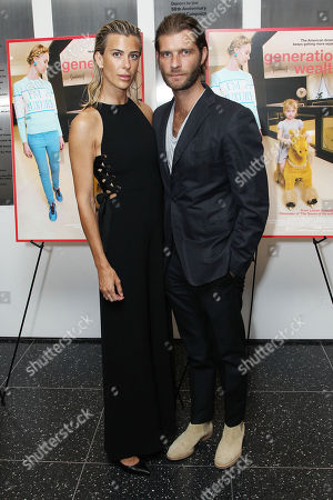 Stock Picture of Lilly Hartley with Guest