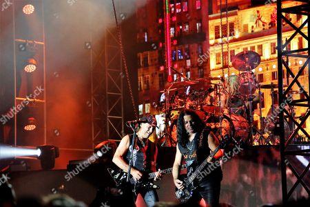 Stock Photo of Matthias Jabs and Pawel Maciwoda from Scorpions