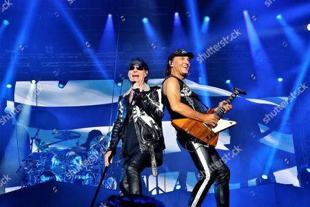 Klaus Meine and Matthias Jabs from Scorpions