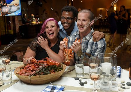 "Editorial photo of New York ""Maine After Midnight"" Lobster Event, Brooklyn, USA - 16 Jul 2018"
