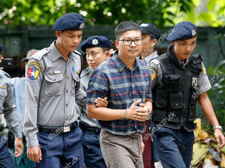 Detained Reuters correspondents' trial, Myanmar