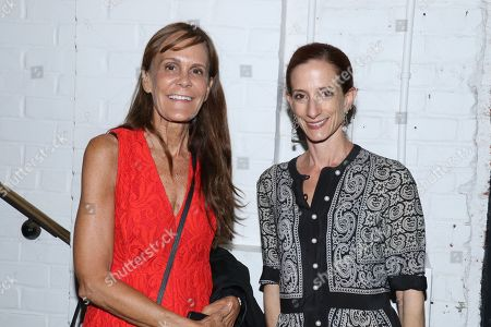 Stock Picture of Julie Gilhart and Vanessa Friedman