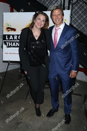 Tiffany Bartok, director of the film and Jayce Bartok, producer of the film