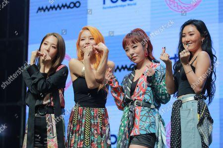 MAMAMOO 'Red Moon' album launch, Seoul