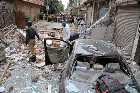 Bomb blast, Multan