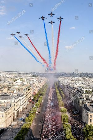 French National Football team Celebration, Paris