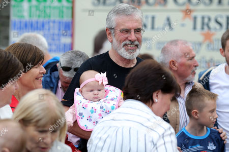 Editorial image of Sinn Fein rally, Belfast, Northern Ireland, UK - 16 Jul 2018