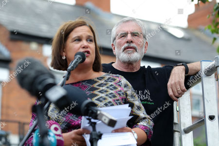 Mary Lou McDonald, Gerry Adams