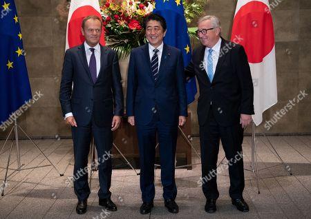 European Union officials visit to Tokyo