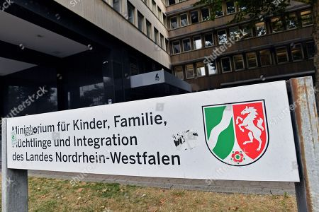 An exterior view of the Ministry for Children, Family, Refugees and Integration of North Rhine-Westphalia (NRW) in Duesseldorf, Germany, 17 July 2018. NRW Minister of Refugees Joachim Stamp and Federal Minister of the Interior Horst Seehofer have cancelled a long-planned discussion on asylum policy at short notice. Both politicians are too busy with the controversial deportation of Sami A.. Sami A. is classified as an Islamist threat, lived in Bochum for years and resisted deportation by legal means. On Friday 13 July he was flown out to his home country Tunisia.
