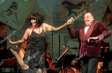 Editorial picture of 'Weimar Cabaret' Cabaret performed by Barry Humphries and Meow Meow at the Barbican Theatre, London, UK, 11 Jul 2018