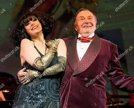 Editorial photo of 'Weimar Cabaret' Cabaret performed by Barry Humphries and Meow Meow at the Barbican Theatre, London, UK, 11 Jul 2018
