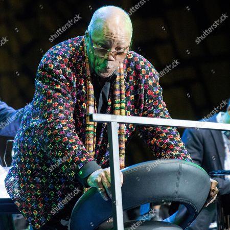 Quincy Jones in concert, Budapest