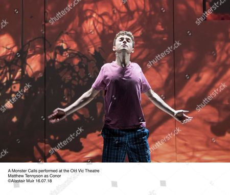 A Monster Calls performed at the Old Vic Theatre