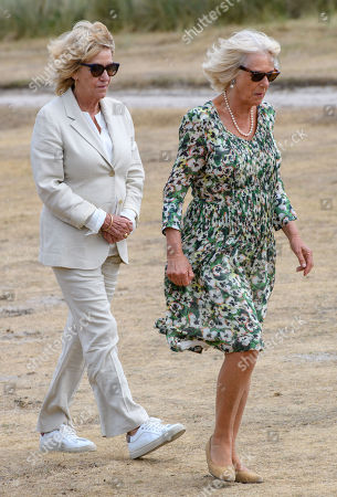 Editorial picture of Prince Charles and Camilla Duchess of Cornwall visit to the Isles of Scilly, Cornwall, UK - 17 Jul 2018
