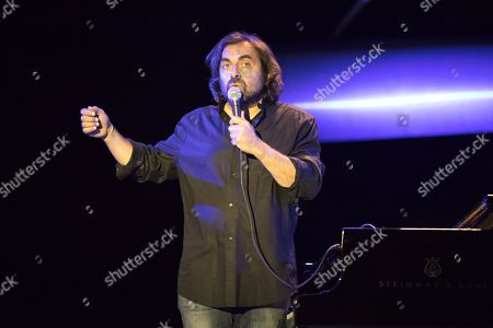 Editorial picture of Andre Manoukian in concert, Antibes, France - 14 Jul 2018