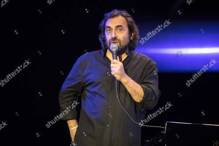Editorial image of Andre Manoukian in concert, Antibes, France - 14 Jul 2018