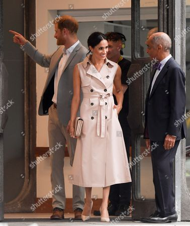 Stock Image of Meghan Duchess of Sussex and Prince Harry