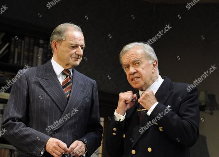 'The Browning Version' - Peter Bowles (Crocker-Harris) and  James Laurenson (Dr Frobisher)