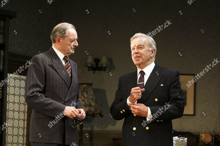 'The Browning Version' - l-r: Peter Bowles (Andrew Crocker-Harris), James Laurenson (Dr Frobisher)