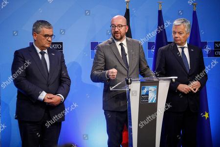 Steven Vandeput, Charles Michel, Didier Reynders
