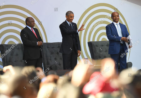Editorial picture of Annual Nelson Mandela lecture in Johannesburg, South Africa - 17 Jul 2018