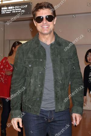 Mission Impossible cast at Haneda International Airport, Tokyo