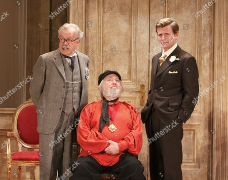 'The Apple Cart' - James Laurenson (Proteus), Barry Stanton (Boanerges), Charles Edwards (King Magnus)