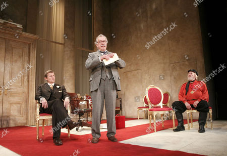 'The Apple Cart' - Charles Edwards (King Magnus), James Laurenson (Proteus), Barry Stanton (Boanerges)