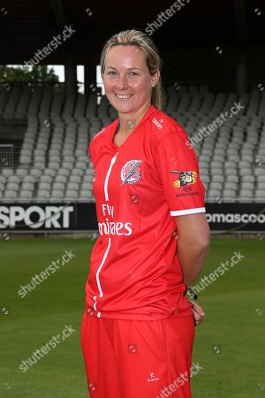 Lancashire Thunders Natalie Brown during the media day for Lancashire Thunder at the Emirates, Old Trafford, Manchester. Picture by George Franks