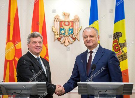President of Macedonia Gjorge Ivanov visit to Moldova