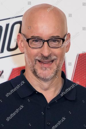 Peyton Reed poses for photographers during a photo call to promote the film 'Ant-Man and the Wasp', in London