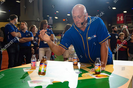 "Snapple hosted its first-ever All-Star Bottle Flip Challenge at FanFest with former MLB All-Stars Cal Ripken Jr. and Cliff Floyd. The players accurately flipped Snapple bottles onto fruit bases in the battle to be crowned ""Flip for Flavor"" champion, in Washington"