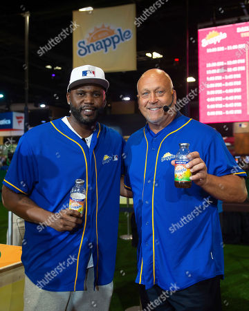 "Hall of Famer Cal Ripken Jr. and World Series Champion Cliff Floyd faced off in the first-ever Snapple All-Star Bottle Flip Challenge at MLB FanFest. Cliff Floyd was crowned ""Flip for Flavor"" champion, in Washington"