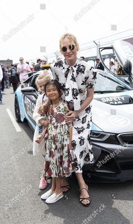 Uma Thurman and daughter Luna Thurman-Busson
