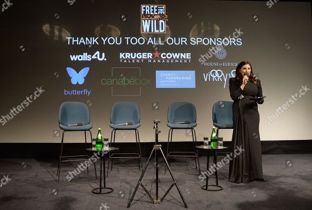 Editorial image of 'Free The Wild' Charity Launch and Screening of 'Mamma Mia! Here We Go Again' hosted by Cher, London, UK - 17 Jul 2018