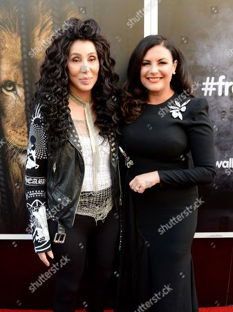 Cher and Lisa Cannon